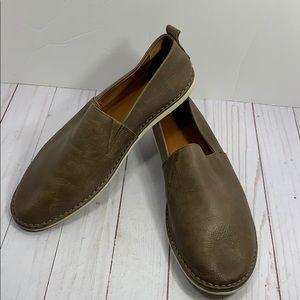Frye men's 'Kyle' slip on leather shoes size 10D